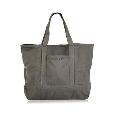 トートバッグ 大容量 キャンバス エコバッグ 折りたたみ 軽量 肩掛け 大きめサイズ (olive)