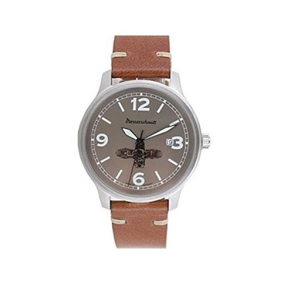 Aristo メンズ ウォッチ Messerschmitt 腕時計 ボクサー ウォッチ ME-BOXER4 レザー