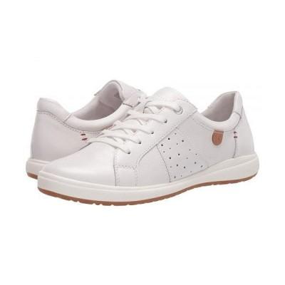 Josef Seibel ジョセフセイベル レディース 女性用 シューズ 靴 スニーカー 運動靴 Caren 01 - White