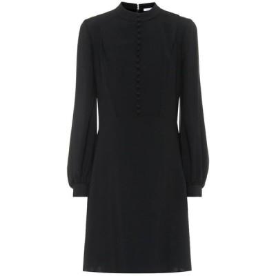 クロエ Chloe レディース ワンピース ワンピース・ドレス Silk-crepe dress Black