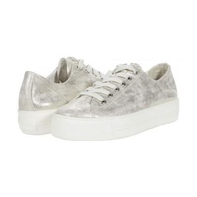 Paul Green ポールグリーン レディース 女性用 シューズ 靴 スニーカー 運動靴 Bixby Sneaker - Mineral Antic Metallic