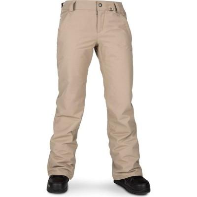 ボルコム Volcom レディース スキー・スノーボード ボトムス・パンツ Frochickie Insulated Pants Sand Brown