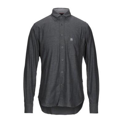 CORNELIANI ID シャツ 鉛色 39 コットン 100% シャツ