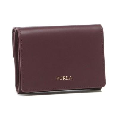 【フルラ】 フルラ 三つ折り財布 アウトレット クリーミー ミニ財布 レッド レディース FURLA PDW6PV5 VKM000 BUR00 レディース その他 フリー FURLA