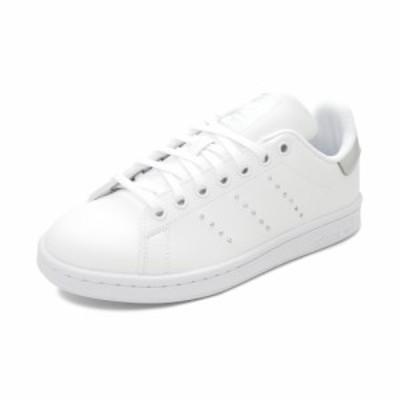 スニーカー アディダス adidas スタンスミスJ フットウェアホワイト/シルバーメタリック/コアブラック FW0745 レディース シューズ 靴 20