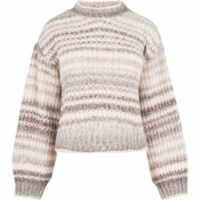 ヴェロモーダ Vero Moda レディース ニット・セーター トップス striped knitted jumper BIRCH