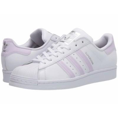 アディダスオリジナルス スニーカー シューズ レディース Superstar W Footwear White/Purple Tint/Silver Metallic