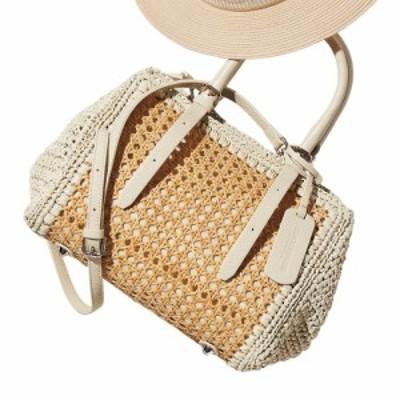 バッグ 靴 アクセサリー かごバッグ メッシュバッグ roberto pancani/ロベルトパンカーニ 素材コンビ バッグ(イタリア製) 234802