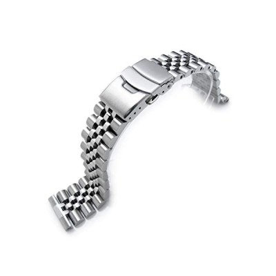 22mm Super-J Louis 316L Stainless Steel Watch Band, straight end universal version 並行輸入品