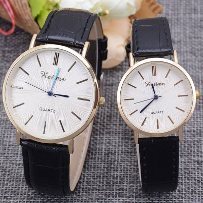ペアウォッチ 腕時計 メンズ レディース プレゼント ペア腕時計 学生 合皮 カップル時計 シンプル  2本セット 夫婦 カップル ギフト 人気