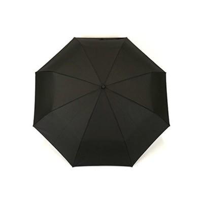 小宮商店 耐風 折りたたみ傘 メンズ 大きい 丈夫なグラスファイバー 風に強い 耐強風 超撥水 テフロン 楽々開閉 65cm 黒
