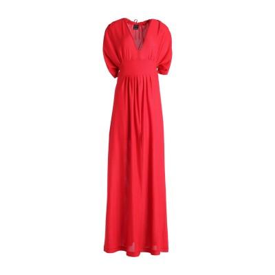 ピンコ PINKO ロングワンピース&ドレス レッド M 90% ナイロン 10% ポリウレタン ロングワンピース&ドレス