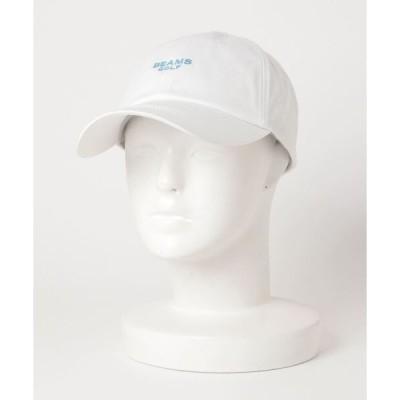 帽子 キャップ BEAMS GOLF PURPLE LABEL / シーズンロゴ キャップ