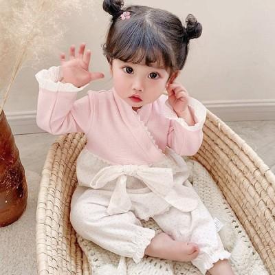 ロンパス 子供服 赤ちゃん 女の子 ベビー カバーオール 中国風 可愛い おしゃれ 人気 プレゼント0310ST3-AL70
