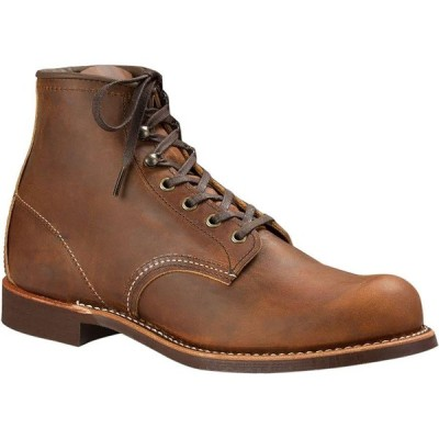 (取寄)レッドウィング メンズ ヘリテイジ 6inブラックスミス ブーツ Red Wing Men's Heritage 6in Blacksmith Boot Copper Rough & Tough Leather