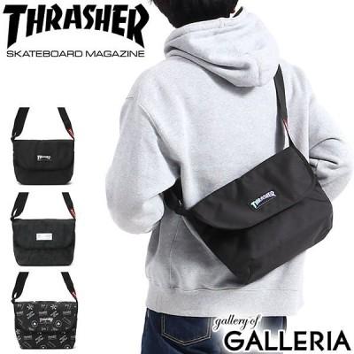 スラッシャー ショルダー THRASHER ショルダーバッグ Benchmark Flap Shoulder Bag 斜めがけ メッセンジャーバッグ ミニショルダー フラップ A5 THR-106