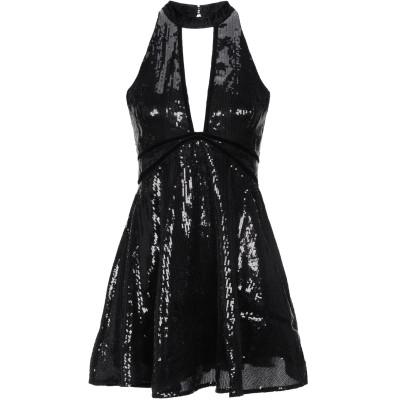 FREE PEOPLE ミニワンピース&ドレス ブラック 12 ポリエステル 100% ミニワンピース&ドレス