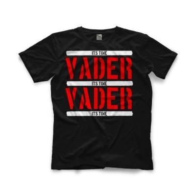 皇帝戦士 ビッグバン・ベイダー Tシャツ「BIG VAN VADER Vader Raw Tシャツ」半袖クルーネックTシャツ 輸入プロレスティーシャツ