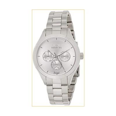 Invicta Women's 12465 Angel Silver Dial Stainless Steel Watch 並行輸入品