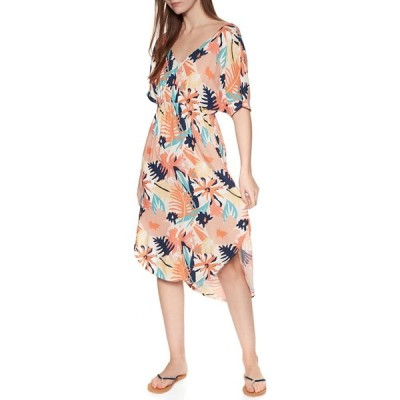 ロキシー Roxy レディース ワンピース ワンピース・ドレス flamingo shades dress Peach Blush Bright Skies