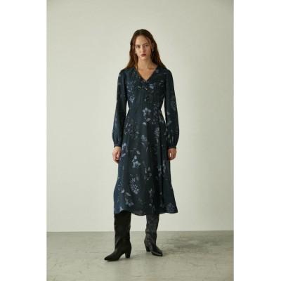 【マウジー】 BOTANICAL GARDEN ドレス レディース NVY 1 MOUSSY