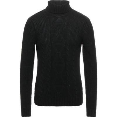 ベルナ BERNA メンズ ニット・セーター トップス Turtleneck Black
