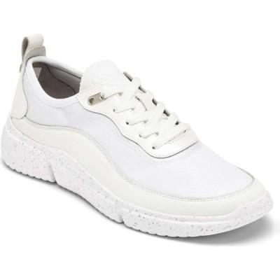 ロックポート ROCKPORT レディース スニーカー シューズ・靴 Re Trainer Sneaker White Leather