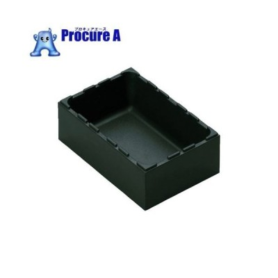 rose ボックスタイプ 黒 外寸(mm)間口×奥行×高さ96×144×50.5 AQ-0111 ▼770-8394 rose plastic社