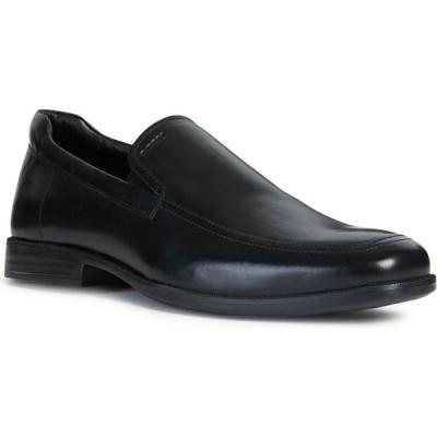 ジェオックス GEOX メンズ ローファー シューズ・靴 Calgary Venetian Loafer Black