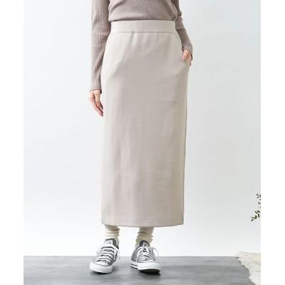 collex/コレックス ダンボールニットタイトスカート ベージュ S