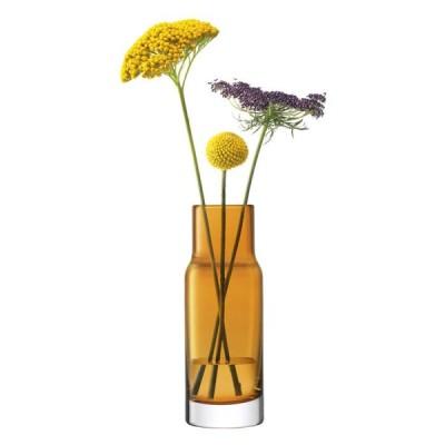 LSA 花器 花瓶 フラワーベース Utility Vase LUT86 G1551-19-835 アンバー 高さ19cm
