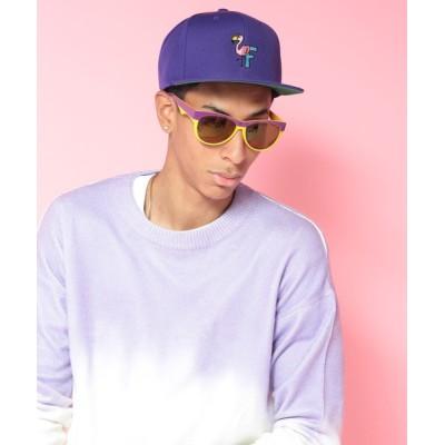 StPT / 【Fool So Good/フール ソー グッド】Flamingo Flat Cap MEN 帽子 > キャップ