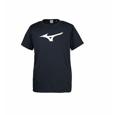 ミズノ ビッグロゴTシャツ ブラック XSサイズ 32JA815509-XS