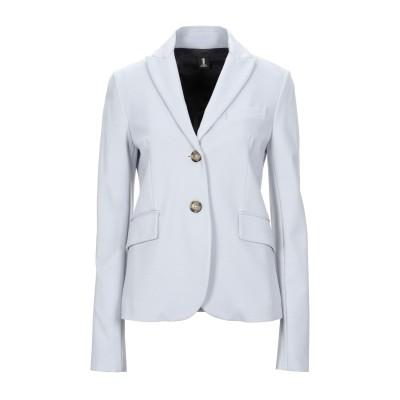 ONE テーラードジャケット ライトグレー 40 レーヨン 69% / ナイロン 25% / ポリウレタン 6% テーラードジャケット