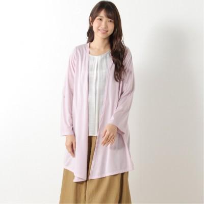 選べる7色展開◎天竺トッパーカーディガン【UV加工】