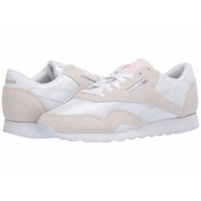 Reebok Lifestyle リーボック レディース 女性用 シューズ 靴 スニーカー 運動靴 Classic Nylon White/Light Grey/None【送料無料】
