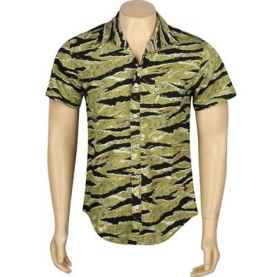 BAIT メンズ 半袖シャツ トップス Basics Short Sleeve Shirt camo/tiger camo
