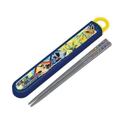 スケーター スライド式ハシ箱セット ポケットモンスター サン&ムーン19 名入れスペース付お箸 ABS2AM