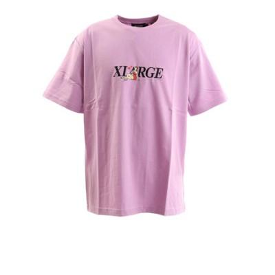 エクストララージ(XLARGE)ALONE 半袖Tシャツ 101202011012 PUR