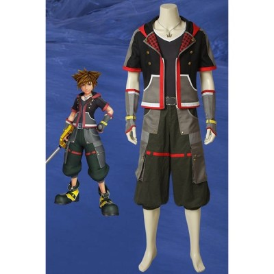 キングダム ハーツIII KHIII ソラ KINGDOM HEARTS 3 Sora ゲーム コスプレ衣装 コスチューム cosplay 仮装