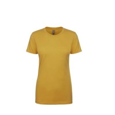 レディース 衣類 トップス Next Level - Women's Cotton Short Sleeve Boyfriend Crew Next Level - NIB グラフィックティー