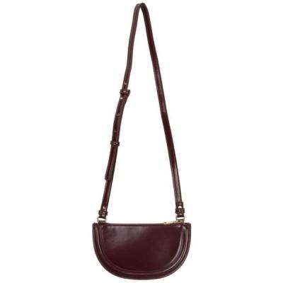 somedayif レディース ショルダーバッグ L half moon shoulder bag