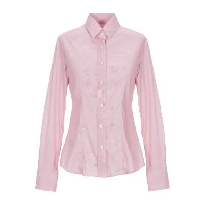XACUS シャツ レッド 40 コットン 72% / ナイロン 25% / ポリウレタン 3% シャツ