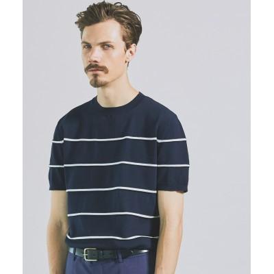 HOUSTONGASS 14G ボーダーニットTシャツ