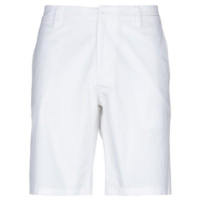 ARMANI EXCHANGE バミューダパンツ ホワイト 31 コットン 98% / ポリウレタン 2% バミューダパンツ
