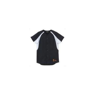 DESCENTE/デサント  JDB48M-BKSW ジュニア ユニフォーム コンビネーションシャツ 【160】 (ブラック×Sホワイト)
