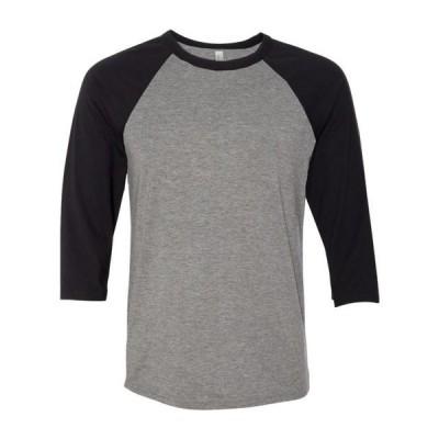 ユニセックス 衣類 トップス BELLA + CANVAS - Unisex Three-Quarter Sleeve Baseball Tee - Artix Tシャツ