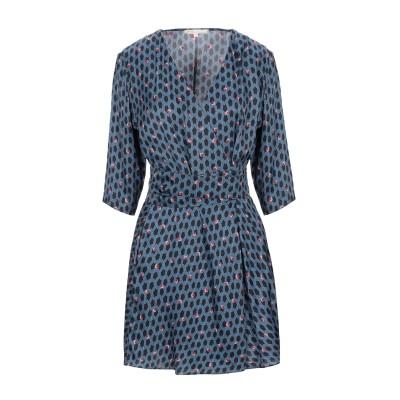 MAJE ミニワンピース&ドレス ブルー 3 レーヨン 100% ミニワンピース&ドレス