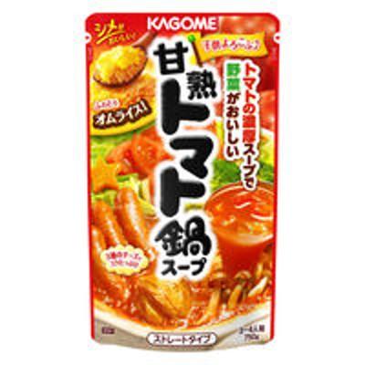 カゴメカゴメ 甘熟トマト鍋スープ 750g 1個