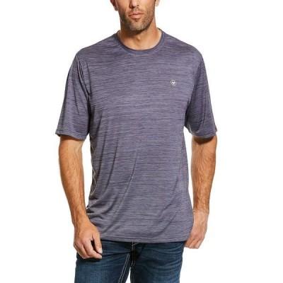 アリアト メンズ Tシャツ トップス Charger Performance Short-Sleeve Tee Gray